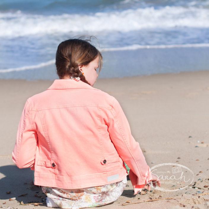 portrefotografie aan zee, Sarah Van Ruyssevelt Photography