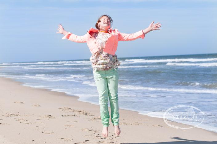 communiefotografie aan zee, Sarah Van Ruyssevelt Photography