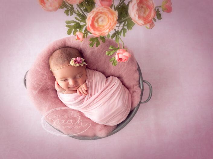 Newborn 10 dagen oud, pasgeboren baby